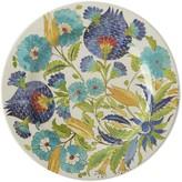 Williams-Sonoma Williams Sonoma Iznik Tile Melamine Dinner Plates, Set of 4, Blue & Green Floral