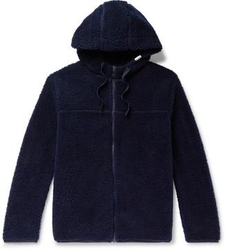 A.P.C. Rohan Fleece Zip-Up Hoodie