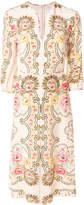 Vilshenko patterned midi shift dress