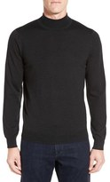 Nordstrom Mock Neck Merino Wool Sweater (Regular & Tall)