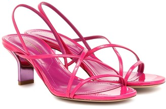 Nicholas Kirkwood Leeloo patent leather sandals