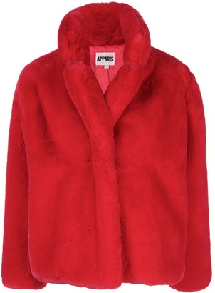 Apparis Faux Fur Coat