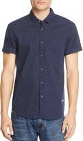 Scotch & Soda Printed Regular Fit Button-Down Shirt
