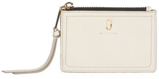 Marc Jacobs The Softshot Zip Leather Card Case