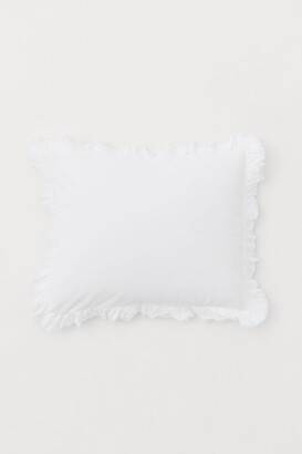 H&M Ruffle-trimmed Pillowcase