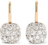Pomellato Nudo 18-karat Rose Gold Diamond Earrings - one size