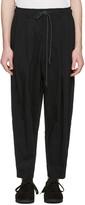 Attachment Black Drawstring Trousers