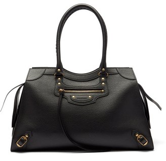 Balenciaga Neo Classic City Large Grained-leather Bag - Black