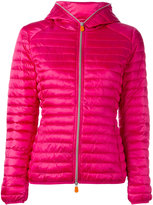 Save The Duck - hooded puffer jacket - women - Nylon/Polyester - 1