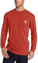 Carhartt Men's Workwear Midweight Jersey Pocket Long-Sleeve T-Shirt K126