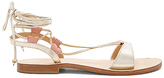 CoRNETTI Fontelina Sandal in Metallic Gold. - size 36 (also in 41)