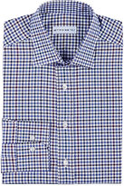 Etro Men's Checked Cotton Twill Shirt-BLUE
