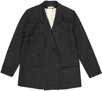 Carin Wester Black Wool Jacket for Women