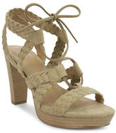 Tahari Denny Suede Platform Sandals