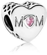 Pandora Mother Heart Charm - 791881PCZ