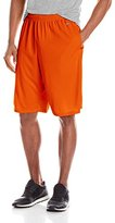 MJ Soffe Men's Extra Long Polyester Closed Hole Mesh Short