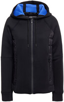Thumbnail for your product : DKNY Shell-paneled Quilted Scuba Hooded Jacket
