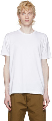 Sunspel White Pima Cotton Classic T-Shirt