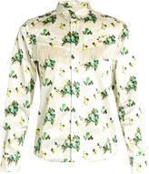Toga Floral-print tassel-trimmed shirt