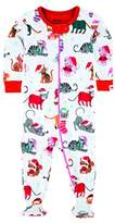 Hatley Baby Girls 0-24m Footed Coverall Footies,3-6 Months