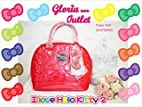 Hello Kitty poppy Red Embossed Patent Bag SANTB966 Loungefly