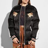 Coach Eagle Souvenir Puffer Coat