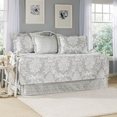 Laura Ashley Venetia 5 Piece Daybed Set - Gray (Daybed)