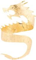 Josie Natori dragon cuff bracelet