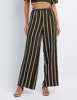 Charlotte Russe Striped Wide-Leg Pants
