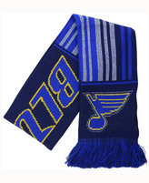 Forever Collectibles St. Louis Blues Glitter Stripe Scarf