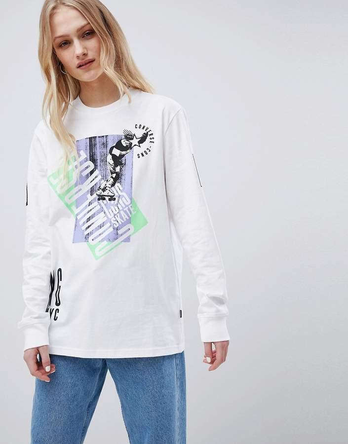 Converse (コンバース) - Converse Cons Skate Boarding Long Sleeve T-Shirt