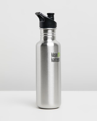 Klean Kanteen Grey Water Bottles - 27oz Classic Sport Cap Bottle - Size One Size at The Iconic