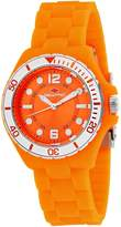 Seapro Women's Spring 36mm Silicone Band Steel Case Quartz Watch Sp3218