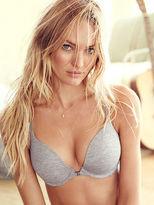 Victoria's Secret Cotton Lingerie Front-Close Racerback Push-Up Bra