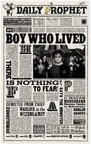 Harry Potter Daily ProphetTM Boy Who Lived Premium Print, White