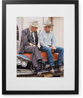 Sonic Editions Framed Paul Newman And Lee Marvin Pocket Money Print, 17 X 21 - Black