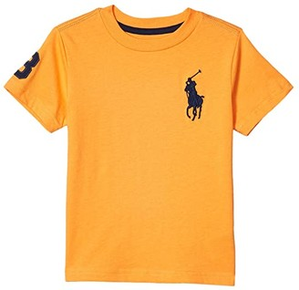 Polo Ralph Lauren Kids Big Pony Cotton Jersey Tee (Toddler) (Thai Orange) Boy's Clothing