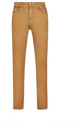 Dorothy Perkins Womens **Burton Washed Tan 5 Pocket Blake Slim Fit Jeans, Tan