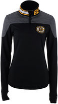 Reebok Women's Boston Bruins Performance Quarter-Zip Pullover