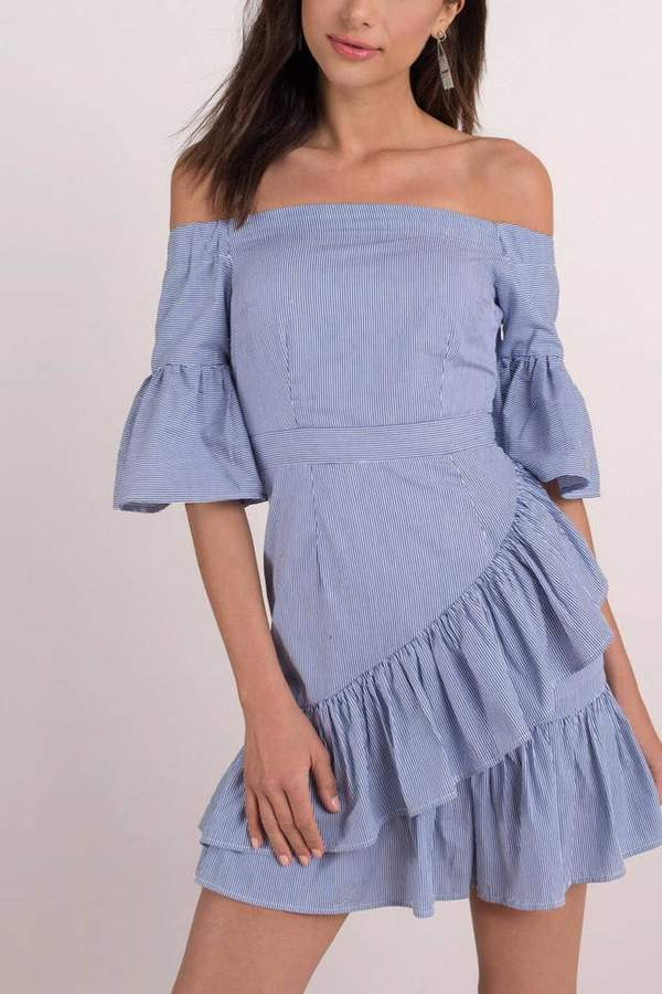 Lucca Couture Vivienne Off-Shoulder Dress