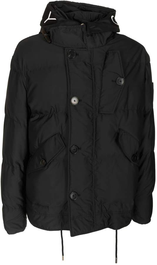 Givenchy Logo Print Padded Jacket