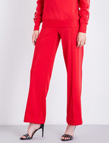 Area Broox wide high-rise jersey trousers