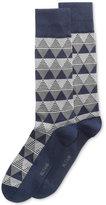 Alfani Men's Triangle-Stripe Socks, Created for Macy's