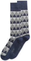 Alfani Men's Triangle-Stripe Socks, Only at Macy's
