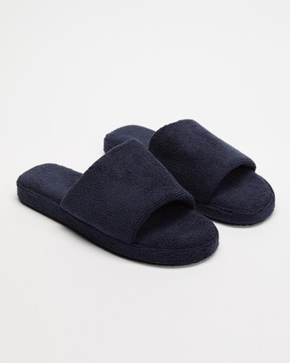 Staple Superior - Blue Sandals - Ibiza Terry Towelling Slides - Size M8/W10 at The Iconic