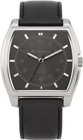 Ben Sherman Men's Quartz Watch with Dial Analogue Display and Black PU Strap BS042