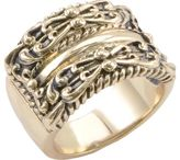 Barse Women's Bronze Ring JUBIR06BRZ