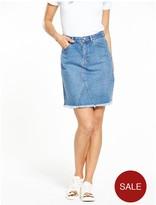 Warehouse 5 Pocket Denim Skirt