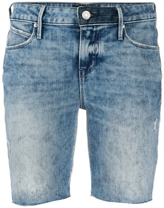 RtA Washed Denim Shorts