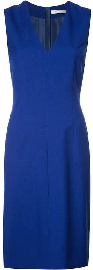 Lanvin v-neck shift dress